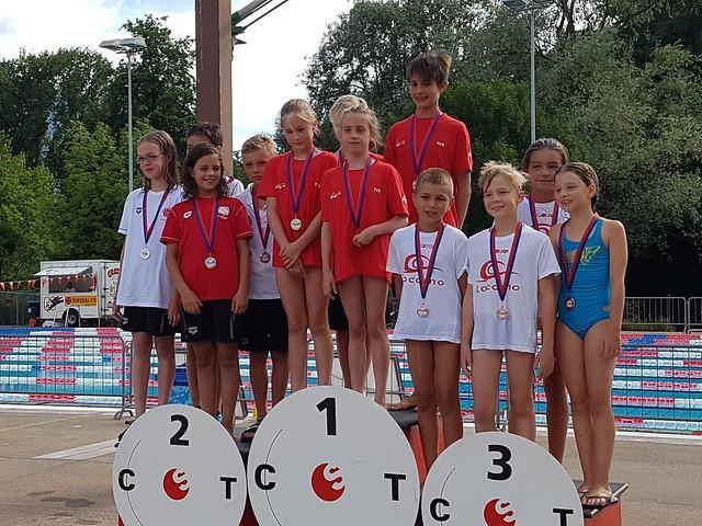 Nuoto: Campionato Ticinese Giovanile Estivo 2017
