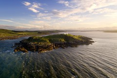 Little Ross Island and lighthouse, Dumfries and Galloway