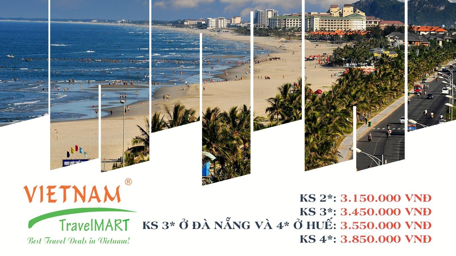 Vietnam TravelMART JSC | Giảm 5% Tour Hành Trình Di Sản 5N4Đ 2