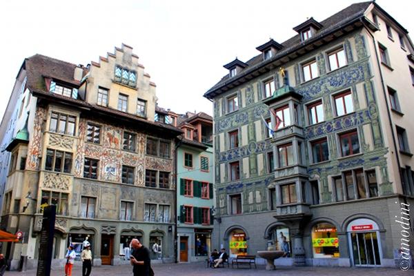 Dornach House at Hirschenplatz, Lucerne