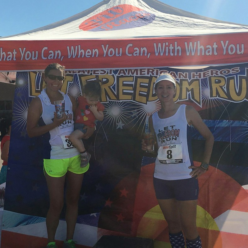 Let Freedom Run 10K, 3rd place, 7/4/2017