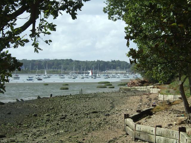 The Medway near Hoo St Werburgh