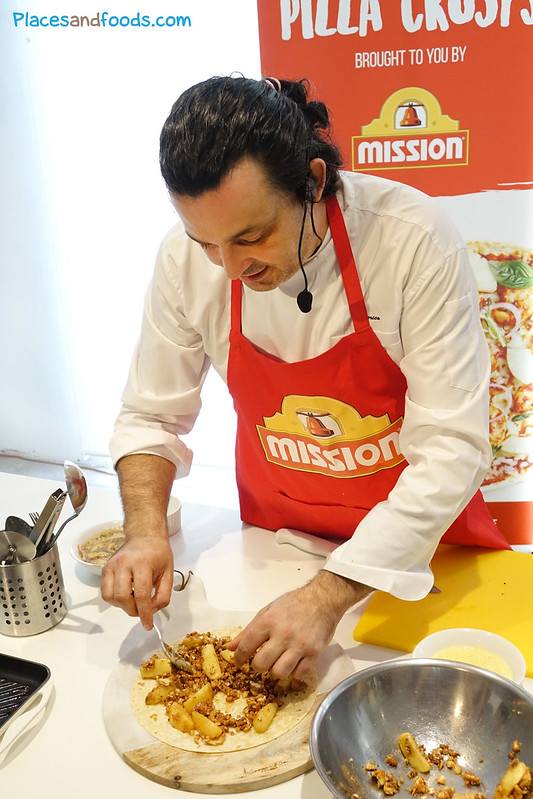 mission foods pizza chef federico