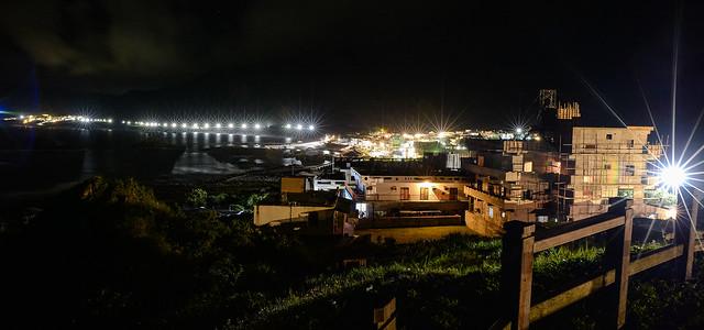 東清灣夜色
