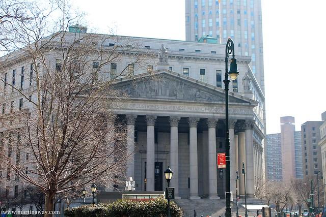 Il Tribunale di New York, storia di New York