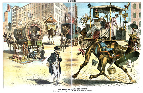american mania for moving, the (1877)