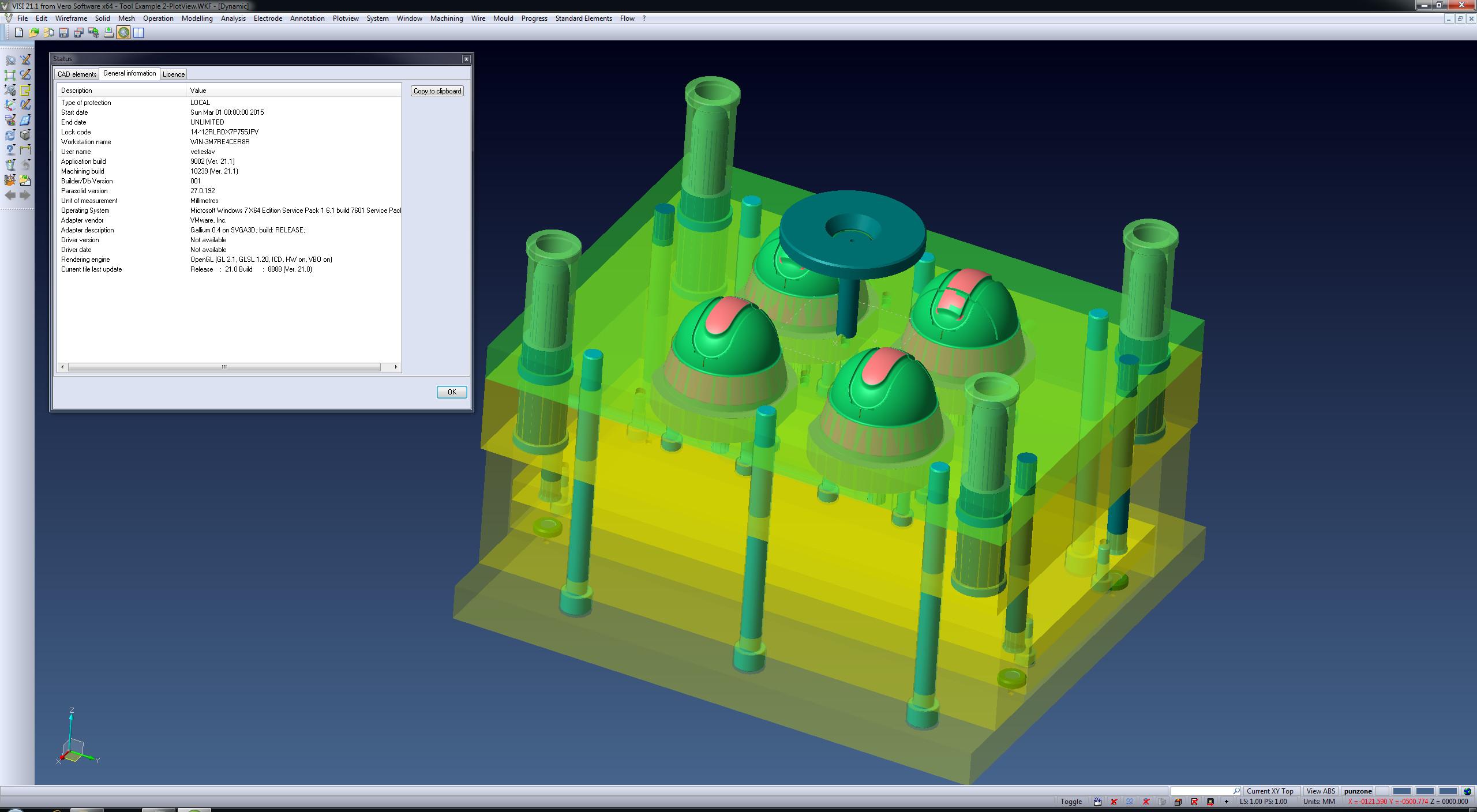 Mold designing with Vero VISI 21.1 x86x64 full license