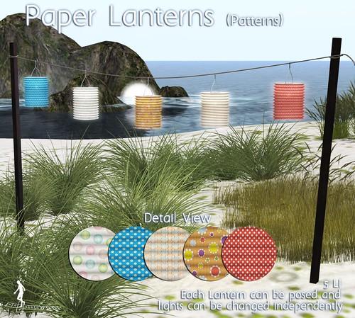 Paper Lanterns Patterns