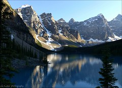 glacier national park, montana, usa and banff national park, alberta, canada