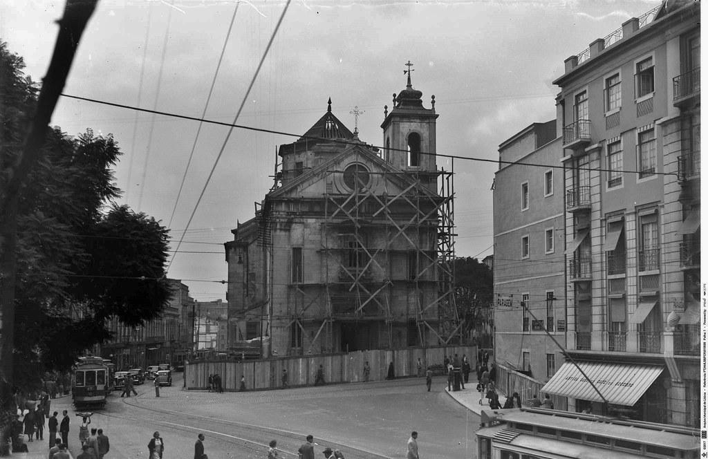 Igreja do Socorro, Mouraria (E. Portugal, 1949)