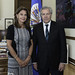 Secretary General meets with former minister of defense of Colombia
