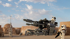 First Order Armed Twin Hover Speeder 70 ATHS-70
