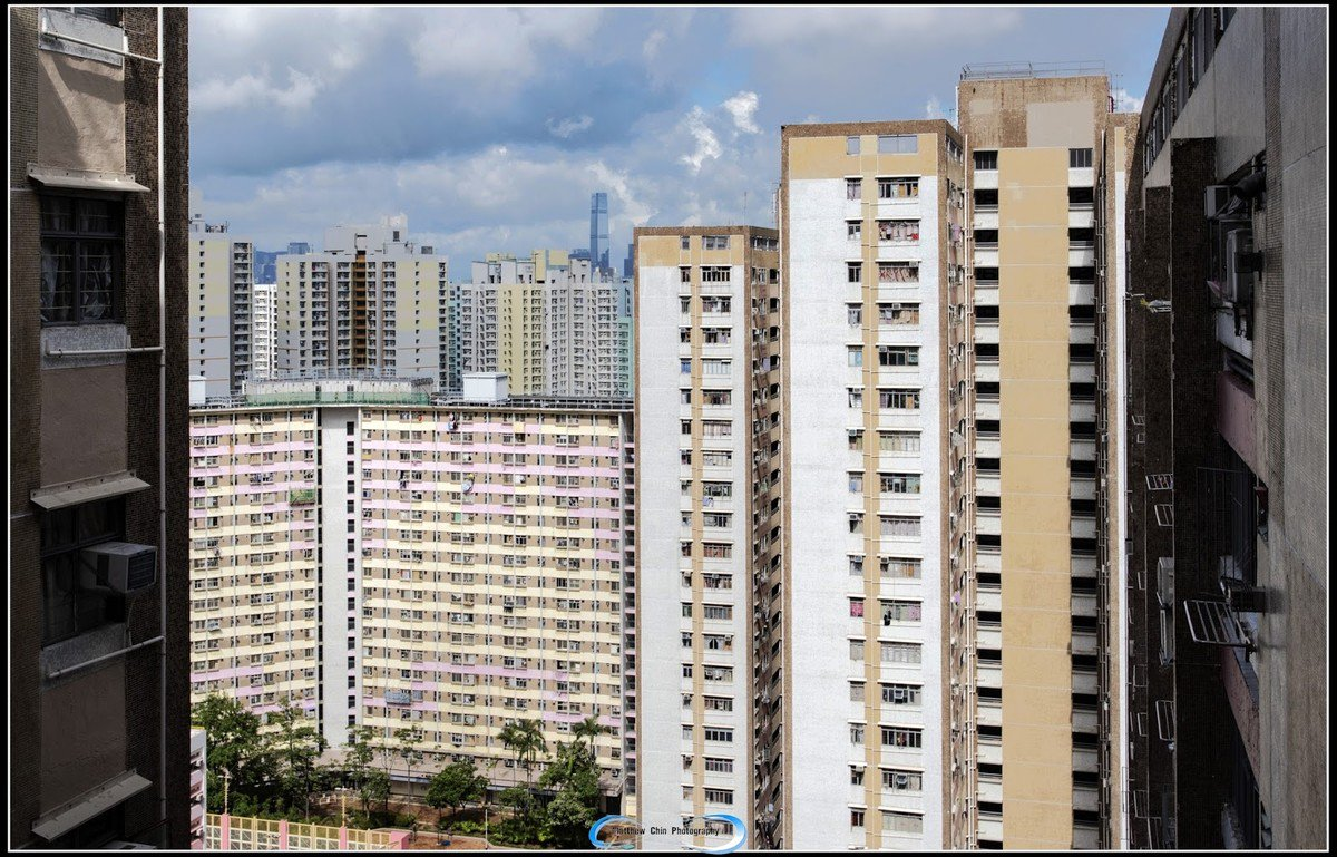 樓宇高層可遠看到 ICC