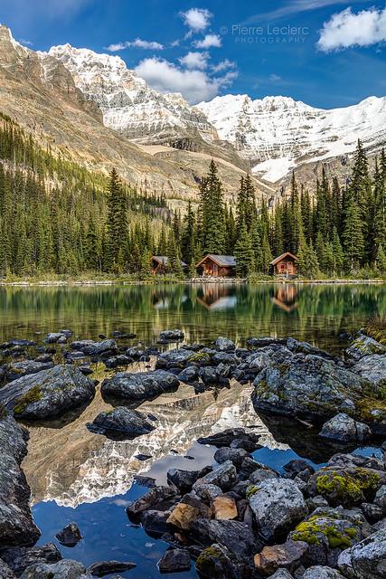 Mountain Reflection at Lake OHara