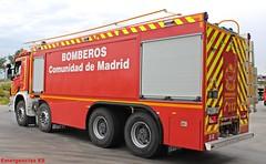 Bomberos Comunidad de Madrid