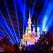 Disney World #MagicKingdom Castle after Fireworks by Mickey Views