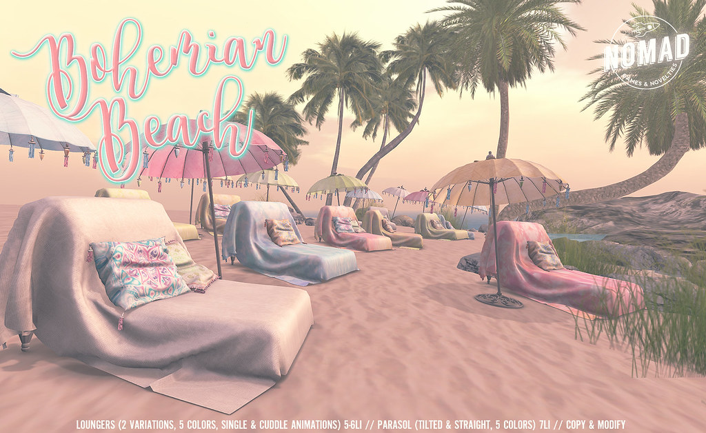 NOMAD // Bohemian Beach Set - SecondLifeHub.com