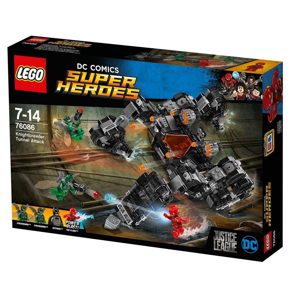 LEGO Super Heroes DC Comics 76086 - Knightcrawler Tunnel Attack
