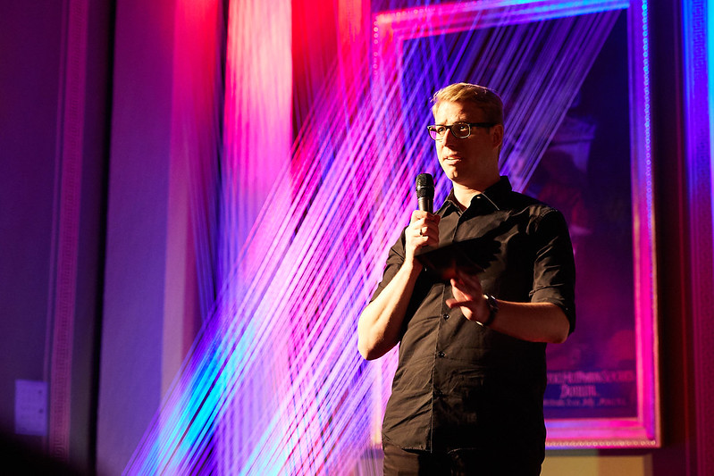The host - Michael Nicolai
