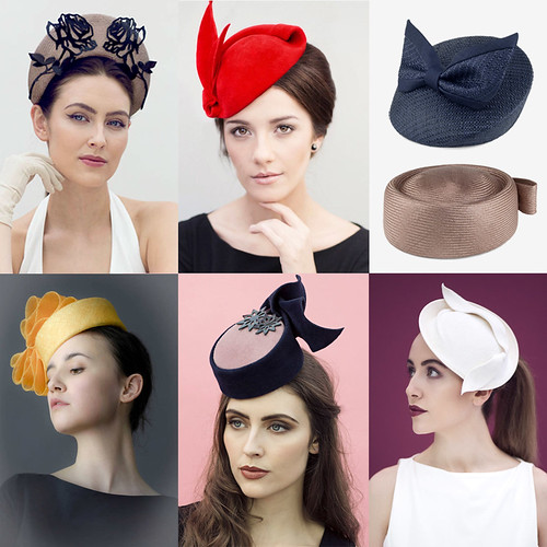 34 Modern Wedding Guest Hats and Fascinators - Pillbox and vintage style hats