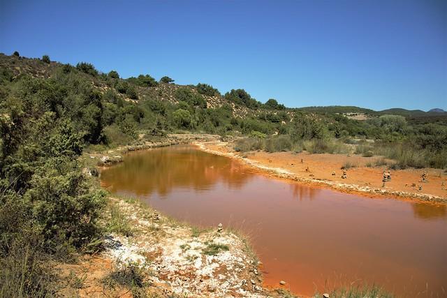 Il fiume da l'acqua  Rossa