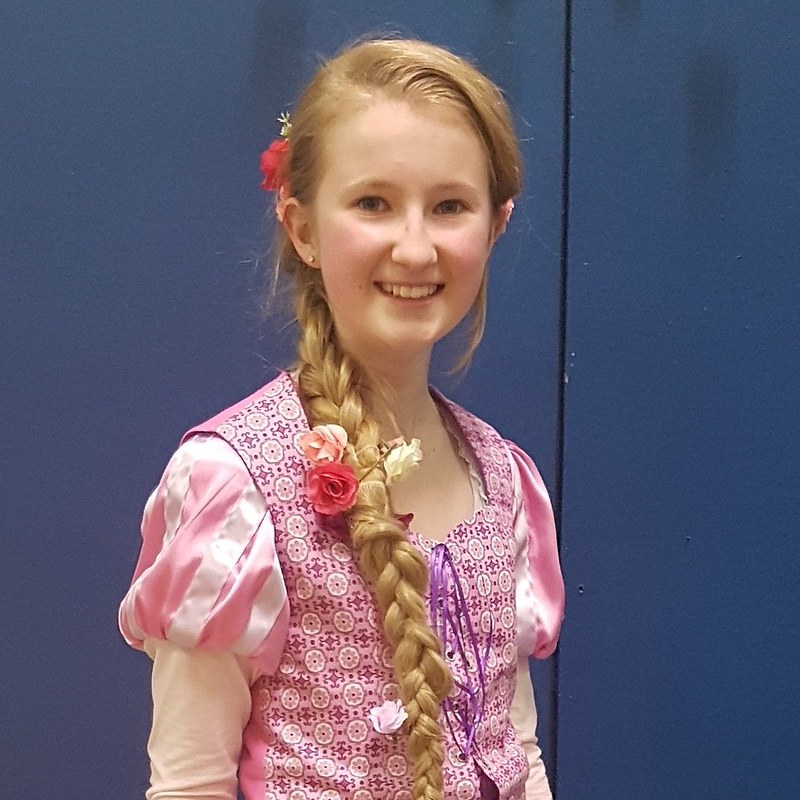 Rapunzel/Tangled costume