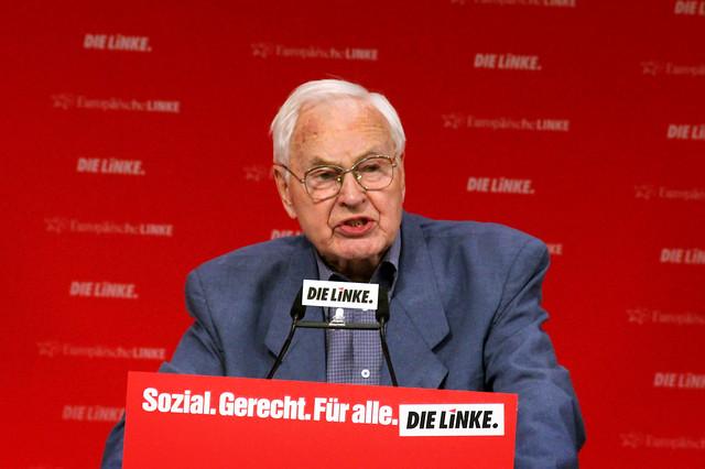 Bundesparteitag DIE LINKE / Rede Hans Modrow