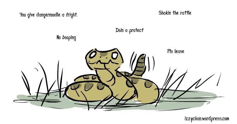 rattlesnake snek