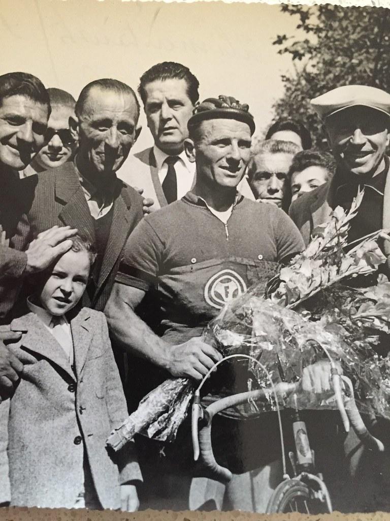 Milano Coppa Alimentaristi (30 settembre 1956) (materiale inviato dal figlio Danilo .... grazie)