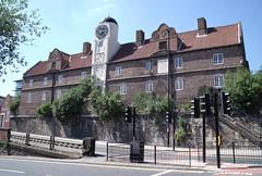 Photo of Keelmen's Hospital, Newcastle upon Tyne black plaque