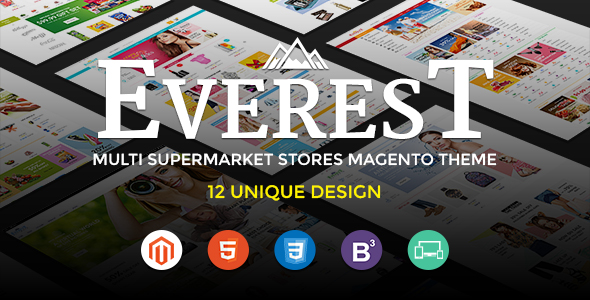 Everest – Ultimate Grocery Outlet Store Premium Responsive Magento Theme