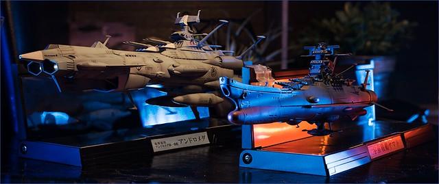 超精密第二彈登場!輝艦大全《宇宙戰艦大和號2202 愛的戰士們》 1/2000 安朵美達(アンドロメダ)