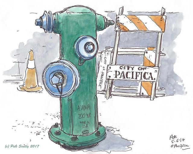 Pacifica hydrant