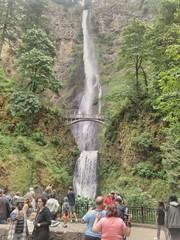 Obligatory Multnomah Falls photo. #multnomahfalls #columbiagorge #midweekgorgeridejune2017 #pedalpalooza #pedalpalooza2017
