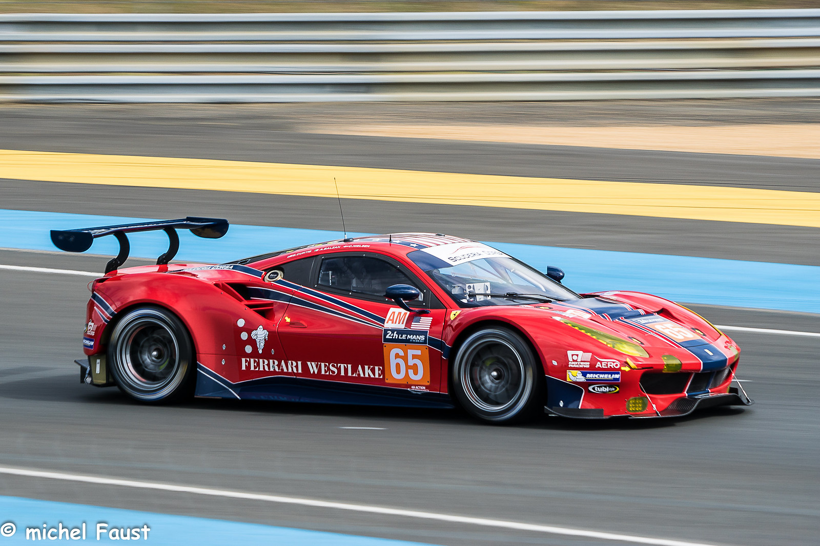 Scuderia Corsa Ferrari 488 GTE, Sony ILCA-77M2, Sony 70-200mm F2.8 G SSM II (SAL70200G2)