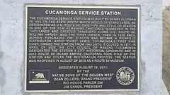 Cucamonga Service Station, 1915