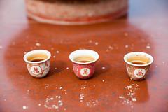 Tea cup on the altar