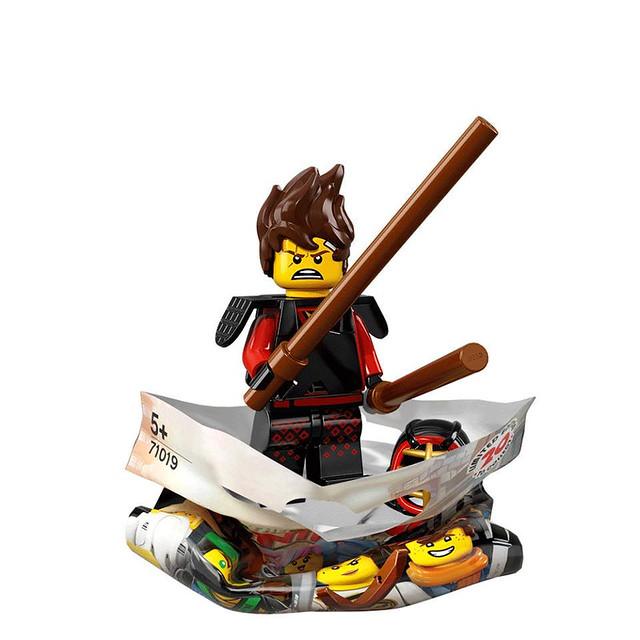 The LEGO Ninjago Movie 71019 Collectible Minifigures 10