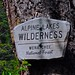 Small photo of Entering the Alpine Lakes Wilderness