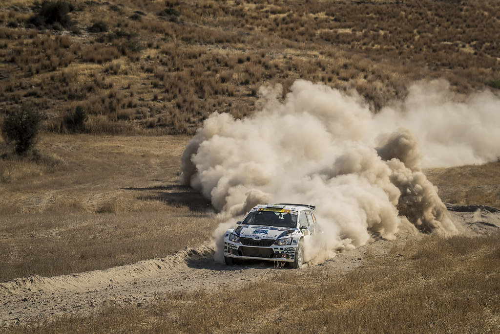 09 TIMOTHEOU Charalambos (cyp) and KOUZIONIS Christos (gre) MOTORSPORT ITALIA SKODA FABIA R5 action during the 2017 European Rally Championship ERC Cyprus Rally,  from june 16 to 18  at Nicosie, Cyprus - Photo Gregory Lenormand / DPPI