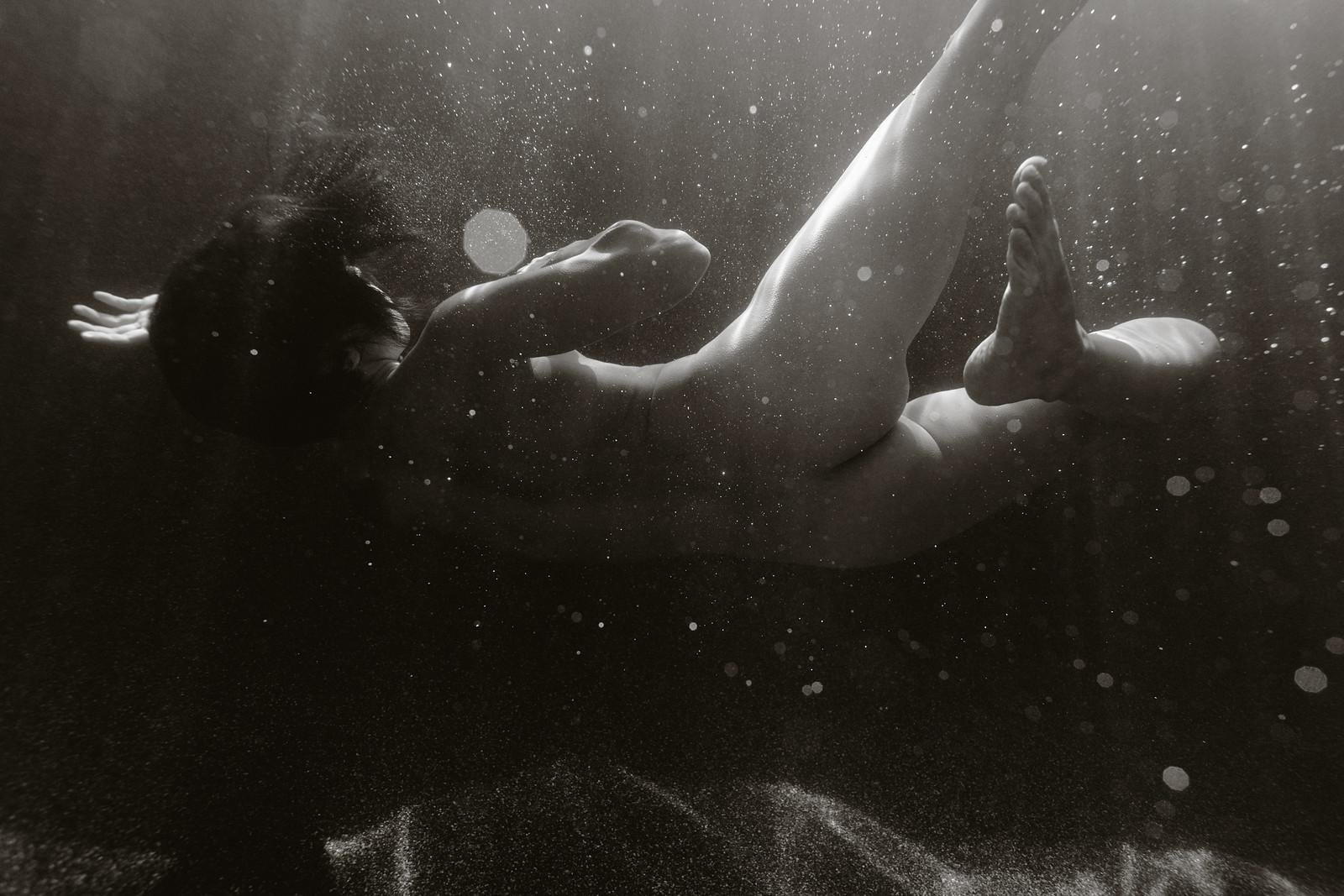 Katch Silva // Ben Sasso // Underwater Shoot