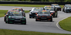 Pirelli World Challenge Racing at Lime Rock Park on May 27th 2017 - Race Day