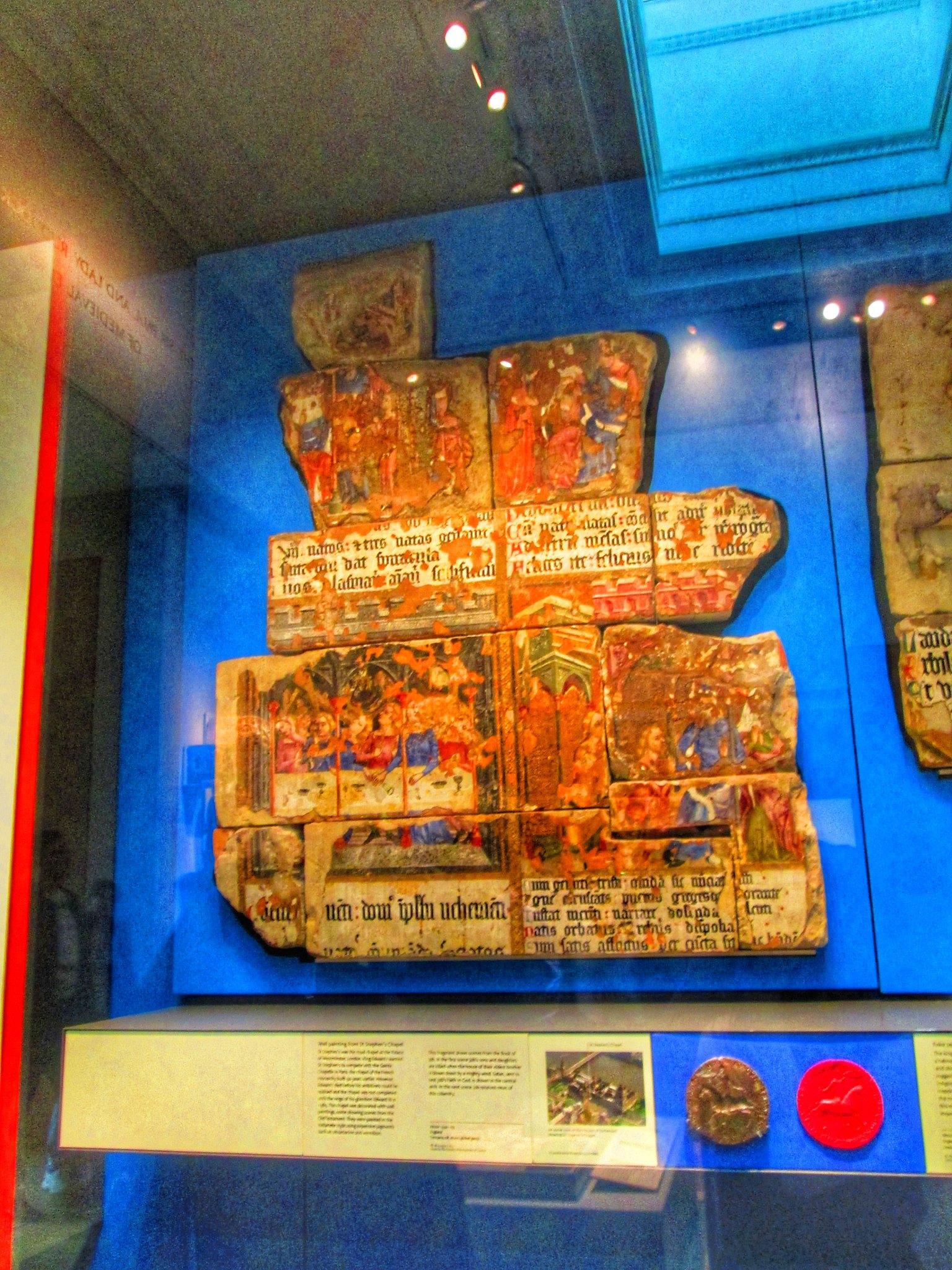British Museum Chapel Mural