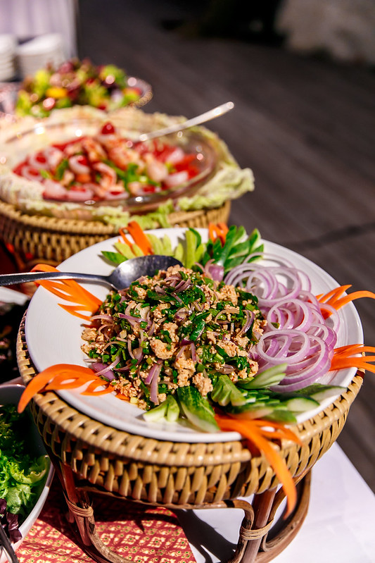 salad bar, seafood BBQ, best food in Thailand, best food in Ko Samui