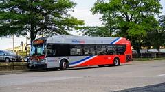 WMATA Metrobus 2016 New Flyer Xcelsior XDE40 #7400