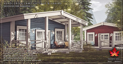 Trompe Loeil - Verdi Creek Camp Cottage and Chairs for FaMESHed July