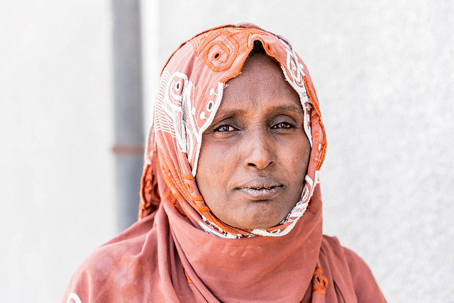 Zahara Ali, a volunteer social worker for Aseita Primary Hospital, Afar regional State.