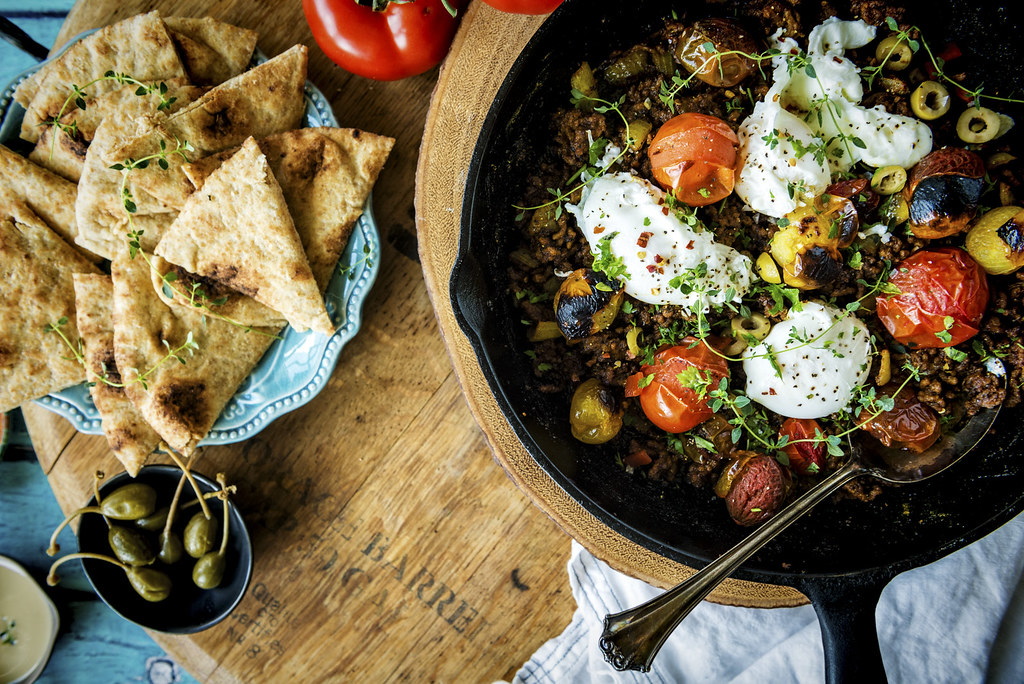 Tumeric Ground Lamb and Eggs Recipe | Kita Roberts GirlCarnivore--2