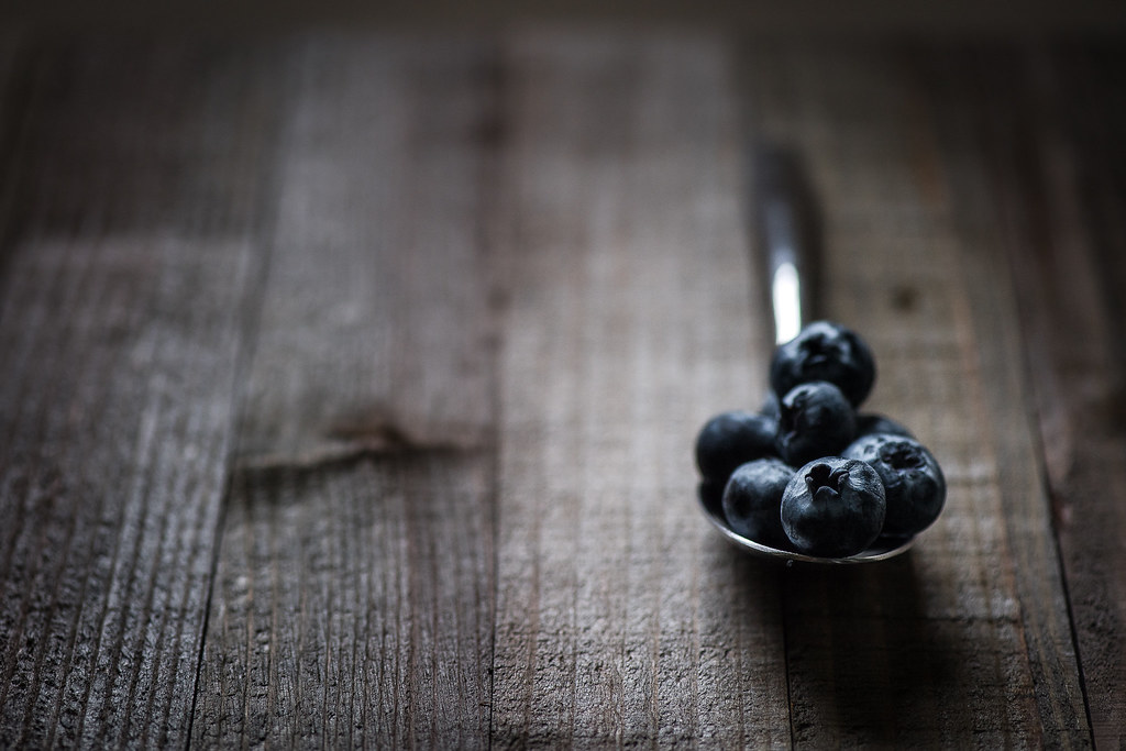 Blueberries & Shadows