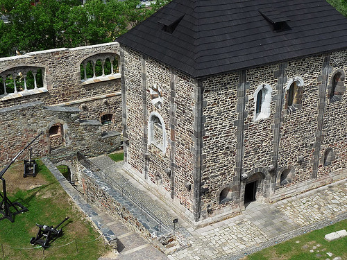 Hrad Cheb:Jediný svého druhu mezi českými hrady